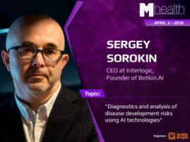 Sergey Sorokin at M-Health Congress: AI technologies for disease diagnostics
