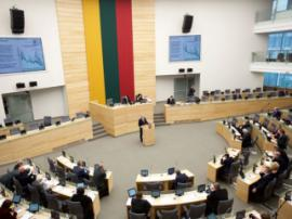 Lithuanian Seimas discusses gambling advertising and sponsorship ban