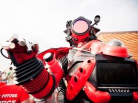 Robot show again at Robotics Expo!