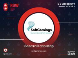 SoftGamings выступит Золотым спонсором Russian Gaming Week 2019