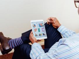 Социальны ли B2B-компании: исследование. Инфографика.