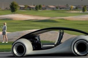 Создание автомобиля Apple пришло в голову еще Стиву Джобсу