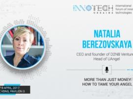 Speaker of InnoTech 2017 Natalya Berezovskaya – CEO of D2N8 Ventures