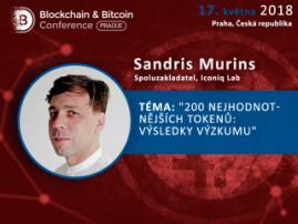 Spoluzakladatel Iconiq Lab Sandris Murins vystoupí na téma tokenizace umělé inteligence