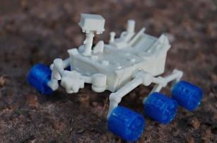 Стали доступны файлы для создания 3D-печатных моделей марсохода