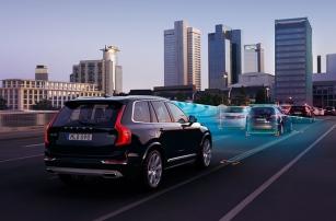 Страховщики назвали автоматические тормоза Volvo самыми полезными