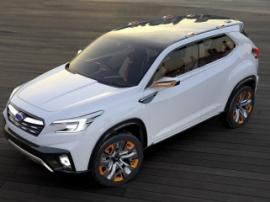 Subaru собирается выпустить электрический полноприводный кроссовер