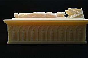 Технология 3D-печати помогла восстановить разрушенную гробницу шотландского короля Роберта Брюса