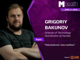 Telemedicine in new realities: report of Grigoriy Bakunov at the M-Health Congress