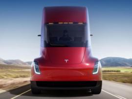 Tesla представила свой электрический грузовик