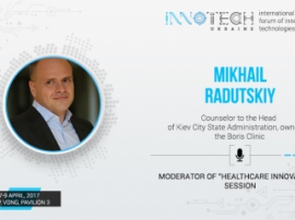"The owner of the clinic ""Boris"" will be the moderator of the block ""Innovations in healthcare"" at InnoTech"