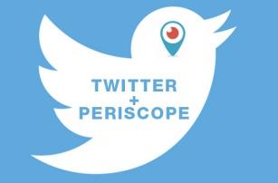 Twitter интегрируется с сервисом видеотрансляций Periscope