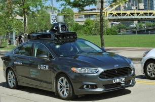 Uber продемонстрировал свой первый автопилотируемый автомобиль