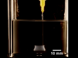 Scientists learned to 3D print with silicone in microgel medium