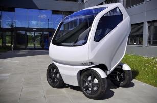 Удивительный прототип идеального городского автомобиля