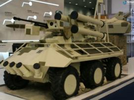 Украинский боевой робот «Фантом» привлек всеобщее внимание на IDEX 2017