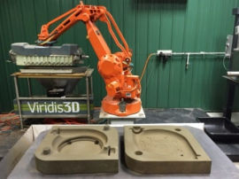 Универсальный 3D-принтер для литейных форм