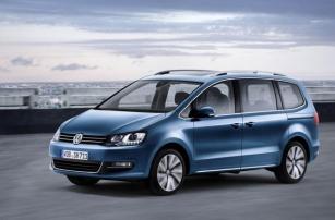Volkswagen представил 5-е поколение минивэна Sharan