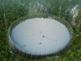 В Гуанчжоу завершено будівництво радіотелескопа-рекордсмена