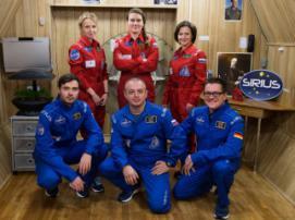 В имитации полета на Луну примет участие самый гендерно равный экипаж в истории