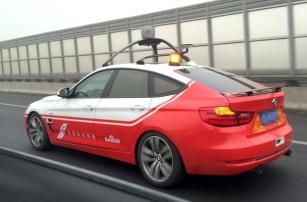 В Пекине испытывают беспилотный автомобиль Baidu