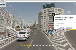 В Румынии придумали, как учиться на права с помощью Google Street View