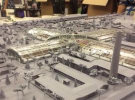В Санкт-Петербурге с помощью 3D-принтера создан макет музея подводной археологии