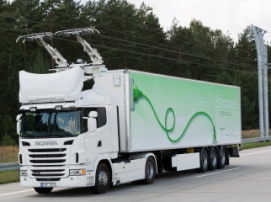 В Швеции начали тестировать электродороги