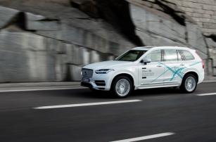 В следующем году клиенты Volvo смогут ездить по Китаю на беспилотных автомобилях