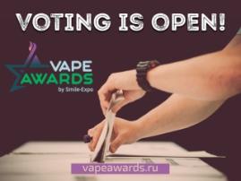 VAPEXPO MOSCOW Awards: veni, vidi, vote