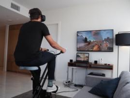 Виртуальная реальность популяризирует фитнес-тренировки
