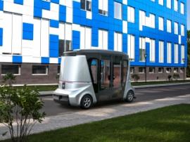 VOLGABUS показала прототип беспилотного автобуса