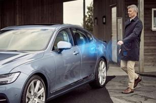 Volvo заменит ключи от автомобиля на Bluetooth