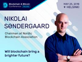 What Issues Can Be Solved with Blockchain? Nikolai Søndergaard, Chairman at Nordic Blockchain Association, Will Explore