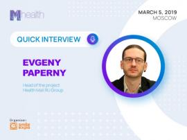Why do marketers dealing with the medical sphere need consumer data? Interview with Evgeny Paperny from Mail.Ru Group