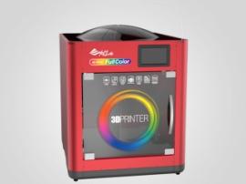XYZprinting developed an affordable full-color FDM printer