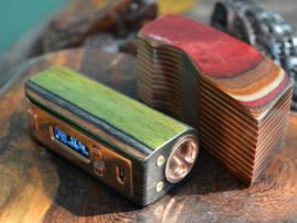 Yiloong Color Wood mod 80W: one more novelty by Yiloong
