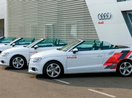 YourMove – каршеринг кабриолетов Audi A3 открылся в Сочи