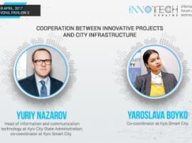 Yuriy Nazarov and Yaroslava Boyko will speak at InnoTech 2017 conference