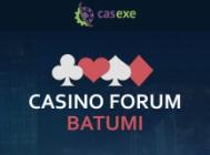 CASEXE: see you at Casino Forum Batumi!