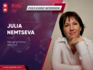 Julia Nemtseva, AdConsul: 'No bad advertising at the World Cup'