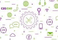 Компания CASEXE сделала клиентскую поддержку более быстрой и удобной