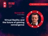 Konrad Gill, ViARsys founder, to speak at Russian Gaming Week 2017