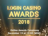 Login Casino Awards announces the start of voting