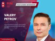 "Valery Petrov: ""Blockchain implementation into business is a difficult, but necessary process"""