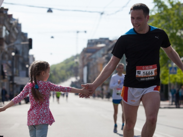«2 кілометри всією сім'єю». У столиці відбудеться унікальний забіг Family Run