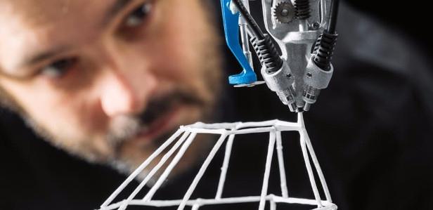 3D Cocooner – принтер, который повторяет движения пауков