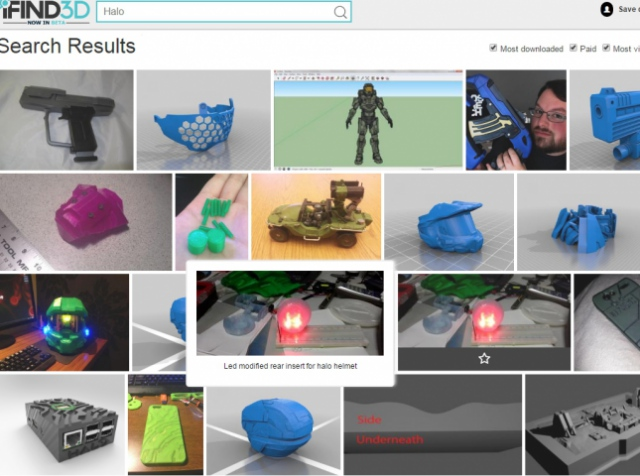 3D Ninja launched special search service for 3D printing