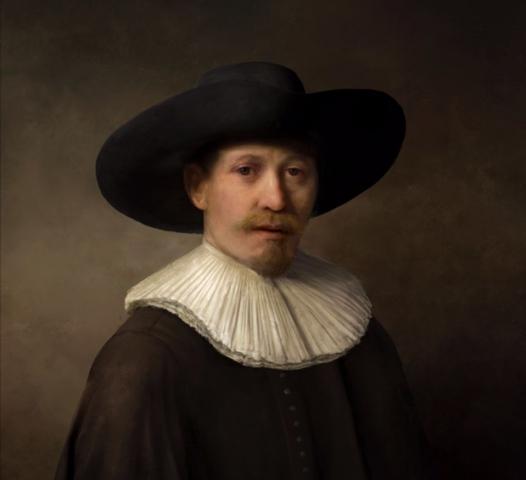3D-печать позволила максимально точно сымитировать стиль Рембрандта
