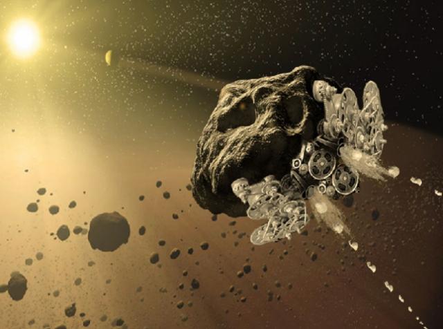 3D-печать превратит астероиды в умные машины, доставляющие полезные ископаемые к космическим станциям
